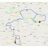 Benelux Tour 2021: route stage 4 - source: www.beneluxtour.eu
