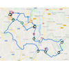 Benelux Tour 2021: route stage 5 - source: www.beneluxtour.eu