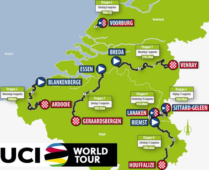 brussels tour de france route