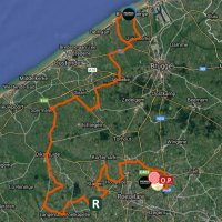 BinckBank Tour 2017 Route 3rd stage with details - www.sport.be