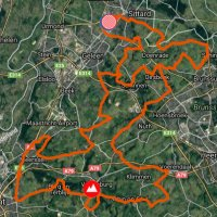 BinckBank Tour 2017 Route 5th stage with details - source: www.sport.be