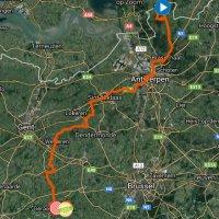 BinckBank Tour 2017 Route 7th stage with details - source: binckbanktour.nl