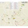 Brabantse Pijl 2021: route
