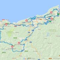 Clásica San Sebastián 2017: Route with details - source: www.klasikoa.eus