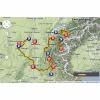 Critérium du Dauphiné 2014: De route - source woosmap.com / ASO