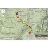 Critérium du Dauphiné 2014 Route stage 3: Ambert - Le Teil - source: woosmap.com / ASO