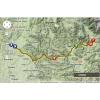 Critérium du Dauphiné 2014 Route stage 4: Montélimar - Gap - source: woosmap.com / ASO