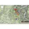 Critérium du Dauphiné 2014 Route stage 5: Sisteron - La Mure - source: woosmap.com / ASO