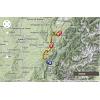 Critérium du Dauphiné 2014 Route stage 6: Grenoble - Poisy - source: woosmap.com / ASO