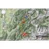 Critérium du Dauphiné 2014 Route stage 8: Megève - Courchevel - source: woosmap.com / ASO
