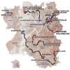 Critérium du Dauphiné 2015 - All stages - source:letour.fr