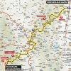 Critérium du Dauphiné 2016 Route stage 2: Crêches-sur-Saône - Chalmazel/Jeansagnière - source:letour.fr