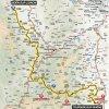 Critérium du Dauphiné 2016 Route stage 3: Boën-sur-Lignon - Tournon-sur-Rhône - source: letour.fr
