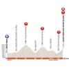 Critérium du Dauphiné 2018: Profile 7th stage - source: letour.fr