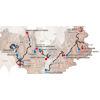 Critérium du Dauphiné 2021: entire route - source: criterium-du-dauphine.fr