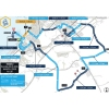 Dubai Tour 2015 Route and scheduled (local) times stage 2 - source: dubaitour.com