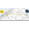Dubai Tour Route stage 1: Dubai - Fujairah - source:dubaitour.com