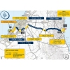 Dubai Tour route stage 1 with scheduled times: source: dubaitour.com