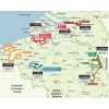 Eneco Tour 2014: The route - source: enecotour.com