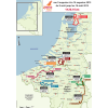Eneco Tour 2015: All stages - source: enecotour.com
