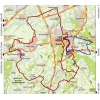Eneco Tour 2015 Route 2nd stage: Breda - Breda - source: enecotour.com