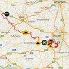Eneco Tour 2016 Route 4th stage: Aalter (B) - Sint-Pieters-Leeuw (B) - source: www.sport.be