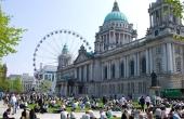 Giro 2014 Route stage 1: Belfast (N-Irl) – Belfast
