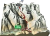 Giro 2014 Stage 16: Climb details of the Passo di Gavia, in 3D