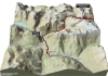 Giro 2014 Stage 16: Climb details of the Passo dello Stelvia, in 3D