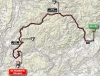 Giro 2014 Route stage 18: Belluno - Rifugio Panarotta