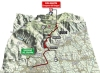 Giro 2014 stage 19: Climb details of the Cima Grappa in 3D