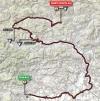 Giro 2014 Route stage 20: Maniago - Monte Zoncolan