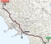 Giro 2014 Route stage 6: Sassano - Montecassino