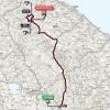 Giro 2014 Route stage 8: Foligno - Montecopilo