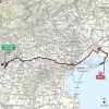 Giro d'Italia 2015 Route stage 13: Montecchio Maggiore – Lido di Jesolo - source gazetta.it