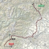 Giro d'Italia 2015 Route stage 20: Saint Vincent - Sestriere - source gazetta.it
