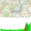 Giro 2015 stage 20 Saint-Vincent - Sestriere: Route and profile