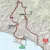 Giro d'Italia 2015 Route stage 3: Rapallo – Sestri Levante - source gazetta.it