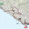 Giro d'Italia 2015 Route stage 4: Chiavari - La Spezia - source gazetta.it