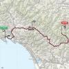 Giro d'Italia 2015 Route stage 5: La Spezia – Abetone - source gazetta.it