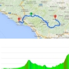 Giro d'Italia 2015 stage 5 La Spezia - Abetone : Route and profile