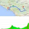 Giro 2015 Route stage 5: La Spezia – Abetone