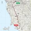 Giro d'Italia 2015 Route stage 6: Montecatini Terme - Castiglione della Pescaia - source gazetta.it