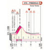 Giro d'Italia 2019: finish profile 12th stage - source: www.giroditalia.it