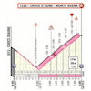 Giro d'Italia 2019: profile finish climb stage 20 - source: www.giroditalia.it