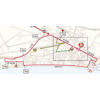 Giro d'Italia 2019: finish map 5th stage - source: www.giroditalia.it