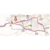 Giro d'Italia 2019: finish map 6th stage - source: www.giroditalia.it