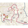 Giro d'Italia 2019: finish map 7th stage - source: www.giroditalia.it