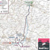 Giro d'Italia 2019: route 2nd stage - source: www.giroditalia.it