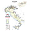 Giro d'Italia 2020: entire route - source: www.giroditalia.it